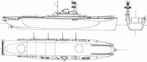 """ドイツ海軍 補助空母""""ヤーデ""""級改造案〜空母神鷹の兄弟達〜"""