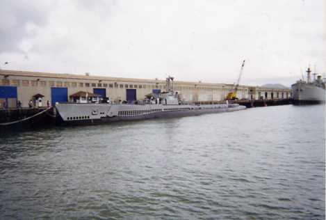 アメリカ海軍潜水艦 SS383
